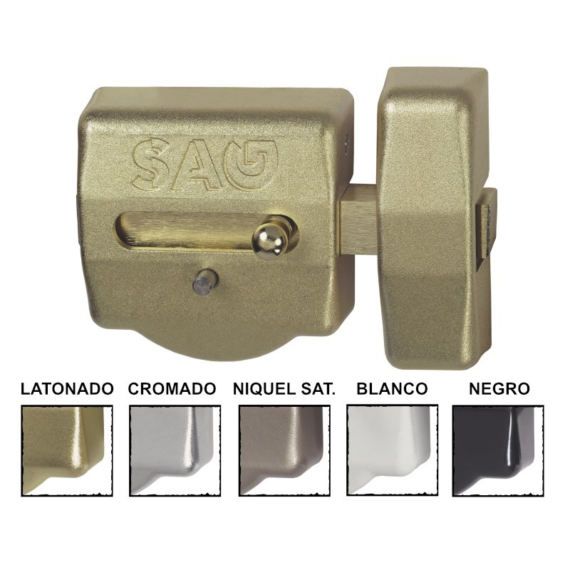 Cerrojo antibumping csi extra reforzado con 5 llaves