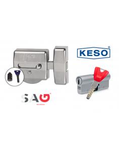 Pack seguridad SAG EP50 + KESO 8000Ω2 PREMIUM 60MM