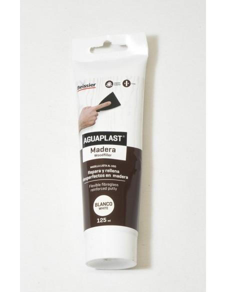 Aguaplast masilla madera 125ml blanco