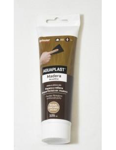 Aguaplast masilla madera 125ml nogal oscuro