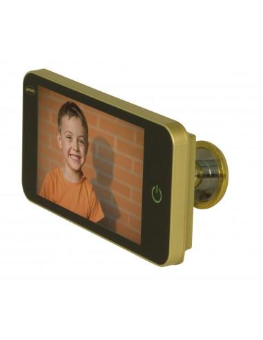 Mirilla digital AMIG DW 4.0 HD plata