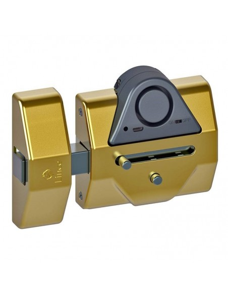 Cerrojo de alta seguridad LINCE con sensor de alarma 7930-RSA