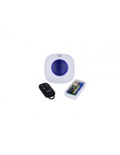 Kit CM sobrepuesto 24h. 3v + sirena + mando (alarma local)
