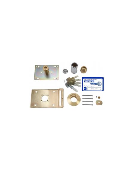 Cilindro doble de conversión INCECA llave IN5